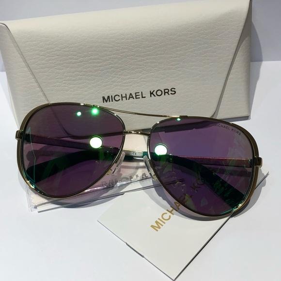 b2cc4f2713f5 ... MK5004 Chelsea Aviator Sunglasses. NWT. Michael Kors.  M_5ba84a1534a4efc0ff403192. M_5ba84a17f63eea3033e4b3f1.  M_5ba84a18c89e1dbda14b08f5